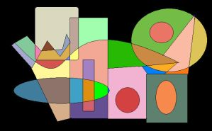 Shapes of Colours 4 by GreenSkullplz