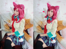 Academy Ahri League of Legends by RinnieRiot