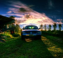 VW Pano by IraMustyPhotography