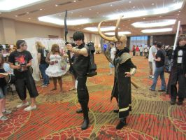 AFest 2012 - Hawkeye and Loki by Soynuts
