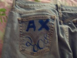 AX 2008 On My Jeans by Haruka--chan