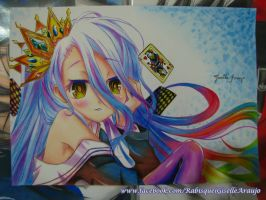 Shiro - No Game No Life by GiselleAFerreira