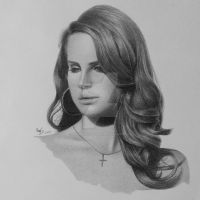 Lana Del Rey by FromPencil2Paper