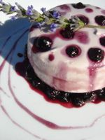 Blueberry mascarpone mousse by I-am-Ginger-Pops