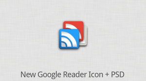 Google Reader Icon + PSD by suraj78