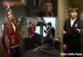 henry and emma wallpaper by callyrose