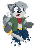 Splatter Coon by Cartcoon