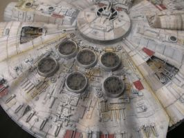 FineMolds Millennium Falcon 3 by BLUE-PROMETHEUS
