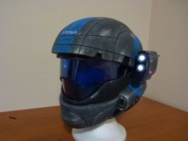 Halo Odst Helmet 4 by Beowyr