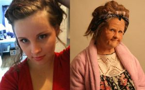 Old Age Make up by MaleneSolheim