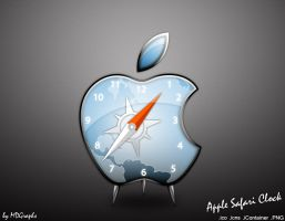 Apple Safari Clock icon by MDGraphs