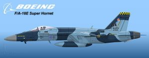 Aggressor Super Hornet by Wolfman-053