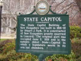 State Capitol Marker by docstubie