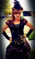 Lady of Steampunk by katiesparrow1