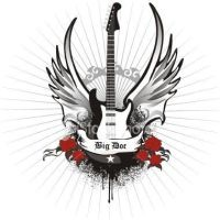 winged guitar by BigDoc