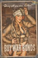 Propaganda Pinups - Doing all you can, Brother? by warbirdphotographer