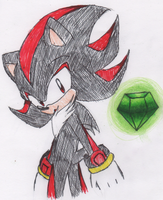 Shadow and His 4th Chaos Emberal by RockStarMaren123