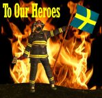 To Our Heroes by Luddox