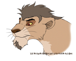 Almer's father by Mganga-The-Lion