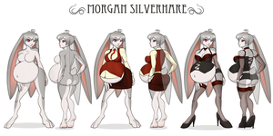 Morgan Silverhare by RiddleAellinea
