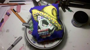 Calavera Finished 2 by DeviousDevilDoll