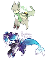 (Closed) JellyCat and SoulFox Auction! by SetSaiI