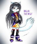 Millia the Wolf (OC) by GothicYola