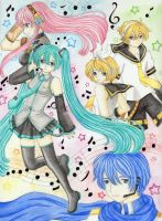 Vocaloid Harmony by Dawnie-chan