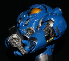 Tychus Findlay (StarCraft 2) by Tendranor