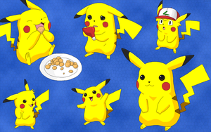 Pikachu Wallpaper 2007 by BeebarbX