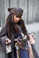 Captain Jack Sparrow by waffies