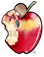 Light Apple sticker by Remittent
