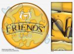 Friends' Club logo by FL0RINF