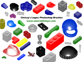 Chrissy's Legos PS Brushes by EmeraldTokyo