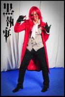 Grell Cosplay by Mahadesu