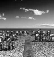 beside the sea in mono by awjay