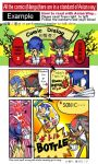 Sonic fan comic-example page by tikal