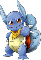 The leader of Team Wartortle by Natsuakai