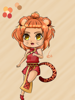 Auction: Tiger Girl [SOLD] by VainBanana2