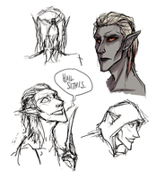 Dravven doodles by shaydh