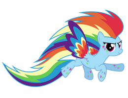 Rainbow Power Rainbow Dash by Ashidaru