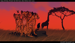 Cheetahs For Michael by iJemz