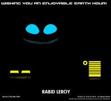EARTH HOUR 2009 by RabidLeroy