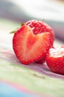 Sweet strawberry by Pamba