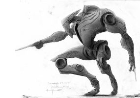 Robot Guard refined... by PELLOWCONCEPTS