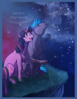See how they sparkle by Aspendragon