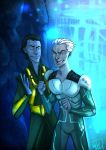 MARVEL - Loki and Quicksilver by the-evil-legacy