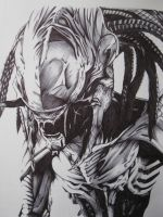 Predalien by youbesonicimtails