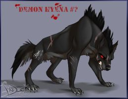 Demon Hyena nr. ? by pharao-girl