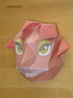 Gerudo mask papercraft by killero94